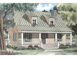 Elderberry Cozy Cabin Home Plan D    House Plans and MoreCozy Cabin Style With metal Roof And Covered Front Porch