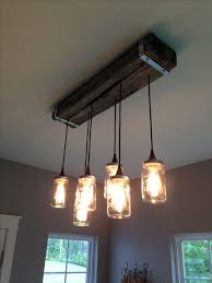 mason jar and reclaimed wood light fixture 7m woodworking specializes in salvage building materials