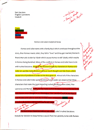 romeo and juliet analytical essay romeo and juliet literary  paragraph essay on romeo and juliet romeo and juliet essays on romeo and julietessay of romeo
