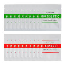 20 Pack 4 01 6 86 Ph Meter Buffer Solution Powder For Easy Ph