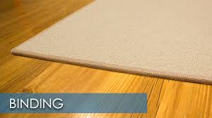 carpet binding. call carpet binding n