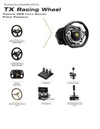 This particular wheel is the lowest priced option of their upper end tx series of wheels and bases. Thrustmaster Tx Racing Wheel Ferrari 458 Italia Edition Xbox Series X S Xone Windows Pricepulse