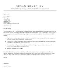 Cover Letter Good Example Example Of Great Cover Letter Good A For