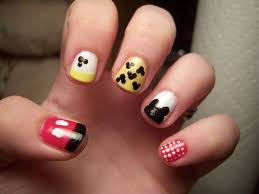 Mickey Mouse Inspired Nail Art by a-LysS-A on DeviantArt