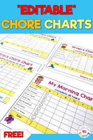 Free Charts For Littles Editable Tpt Shop Littles Love