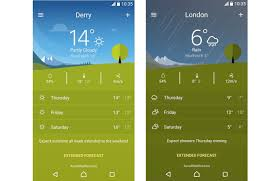 Android Weather App Design Sony Xperia Weather App 2 Android Community