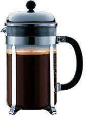 If the grind is too fine the coffee will taste bitter. Amazon Com Bodum Chambord French Press Coffee Maker 51 Ounce 1 5 Liter Chrome Kitchen Dining