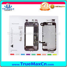 Iphone Screw Chart Best Quality Magnetic Project Mat For Iphone 7 Screwdriver Repair Guide Pad Screw Keeper Chart Map Buy Magnetic Screw Mat For Iphone 7 Repair Guide