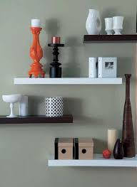 Designer Floating Shelves