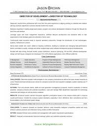 Complex Director Of Technology Resume Director Information