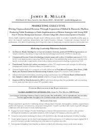 Marketing Executive Resume Samples Free Best of Sample Marketing Director Resume Example Marketing Director Resume