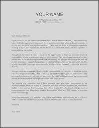 Cover Letter Email Format Elegant Cover Letter For Resume Sample
