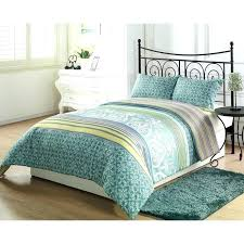 cotton dandelion light green duvet cover flower bedding set full size linen