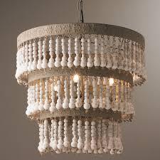 wooden chandelier lighting. Wood Bead Chandelier Design Wooden Lighting