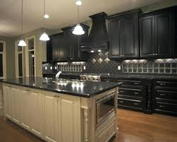 Antique Black Kitchen Cabinets Impressive Design Inspiration