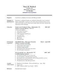 Ministry Cover Letter Samples Of Medical Assistant Resume Job Civil ...