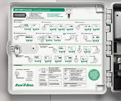 Rain Bird Esp Me Programming Chart Esp Lxme Controller Traditionally Wired Control Rain