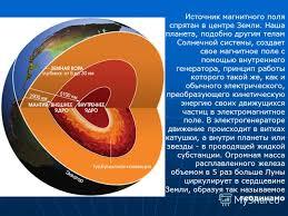 Презентация на тему Магнитное поле Земли Скачать бесплатно и  4 Источник магнитного