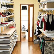 elfa large walk in closet las almond