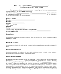 Simple Rental Lease Agreement Free 10 Simple Lease Agreement Forms In Pdf Doc