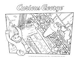 printable curious george coloring pages for full size