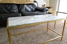 faux marble coffee table. Ikea Vittsjo Coffee Table Hack Covered In Faux Marble Or Vinyl For A Home Decorating Diy Furniture On Instagram