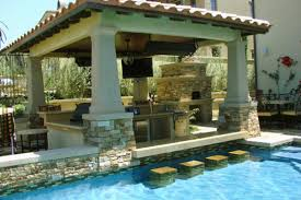 Home Pool Bar Design On Vine