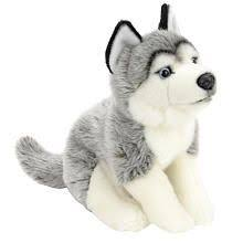 toys r us plush 16 inch husky gray and white toys r us toys r us