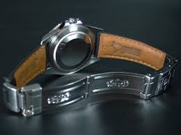 officialtime leather strap combination exact fit original rolex deployment clasp this item is not included the clasp