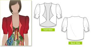 Bolero Jacket Pattern Amazing Rosa Jacket Style Arc