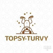 Image result for Photo of topsy turvy