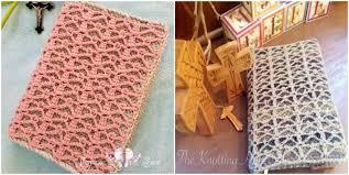 crochet book cover serenity pattern