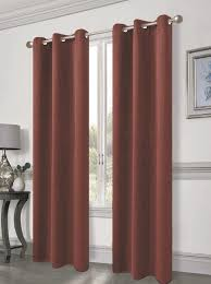 cambridge solid blackout thermal grommet curtain panels