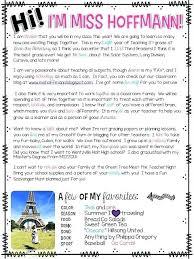 Meet The Teacher Letter Templates Teacher Introduction Letter Meet The Teacher Letter Student
