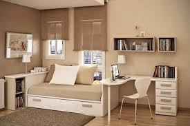 Small Bedroom Desk Bedroom Exquisite Small Bedroom Design With Brown Wooden