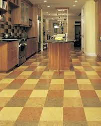 Are Cork Floors Good For Kitchens A Designer Kitchen Deserves Custom Colored Flooring To Colors Cor