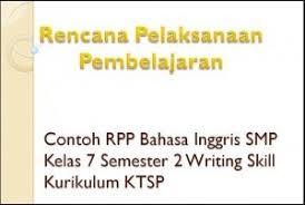 Contoh rpp bahasa inggris smp kelas 7, 8, 9 kurikulum ktsp semester 1 & 2 revisi baru sebagai pelengkap dalam memb. Rpp Bahasa Inggris Smp Kelas 7 Semester 1 Ktsp
