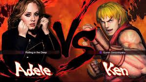 adele vs ken super street fighter iv by cedricoikari on deviantart