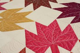 Modern Maples Quilt & Her work is gorgeous and totally makes the quilt. I had Emily use some  Pellon Legacy Bamboo/Cotton blend batting I had on hand and the quilt ... Adamdwight.com