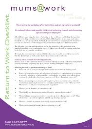 Best Solutions Of Sample Cover Letter For Returning To Work Moms