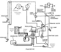 ford jubilee wiring diagram 1953 tractor 6 volt positive ground 2003 Ford F-250 Wiring Diagram at 53 Ford Custom Line Genrator Wiring Diagram