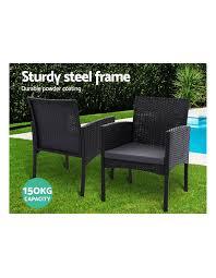 gardeon outdoor bistro chairs patio