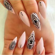 42 Most Beautiful Geometric Nail Art Design Ideas