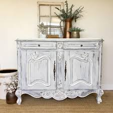 Antique Sideboard Buffet, French Country Furniture, White Buffet Cabinet,  Louis XV, Shabby