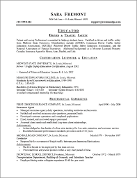 Resume Objective Career Change On Career Change Resume Objective