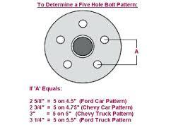 18 Faithful Ford Truck Bolt Pattern Chart