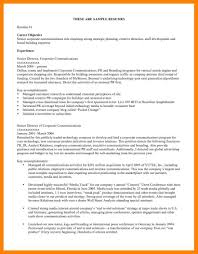 9 How To Write An Objective On A Resume Riobrazil Blog