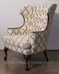 wingback chair with nailheads upholstery material can t wait to get my wingback