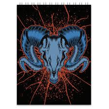 <b>Блокнот Goat skull</b> #1082624 от scoopysmith