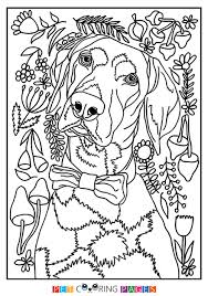 Small Picture Pointer Coloring Page Travis ZileArt
